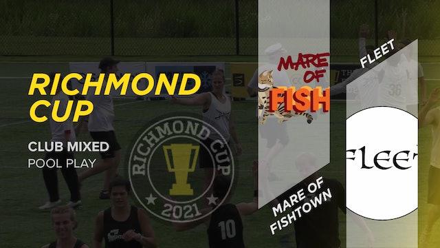 Mare of Fishtown vs. Fleet   Mixed Pool Play