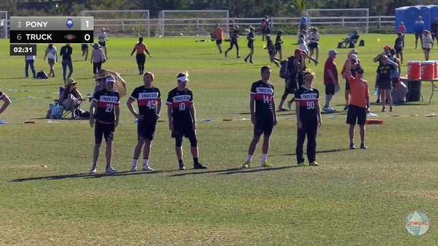 PoNY vs. Truck Stop | Men's Pool Play | Club Championships 2018
