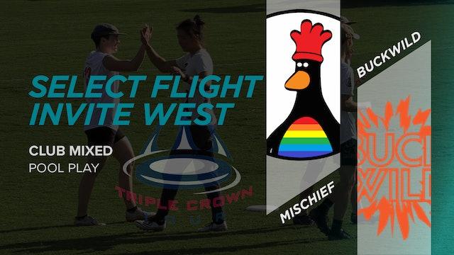 Mischief vs. Buckwild   Mixed Pool Play