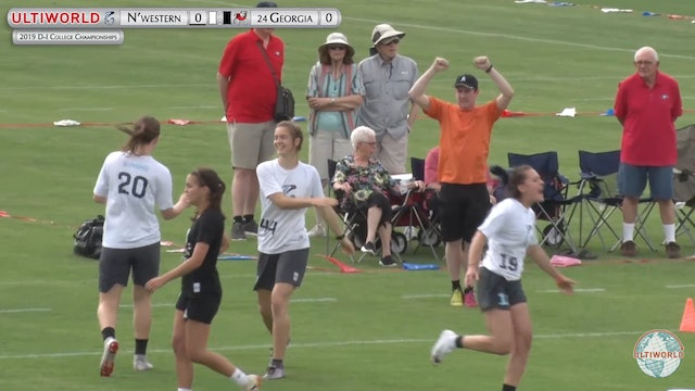 Georgia vs. Northwestern | Women's Pool Play | D-I College Championships 2019