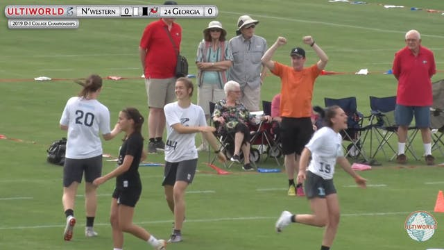Georgia vs. Northwestern | Women's Po...