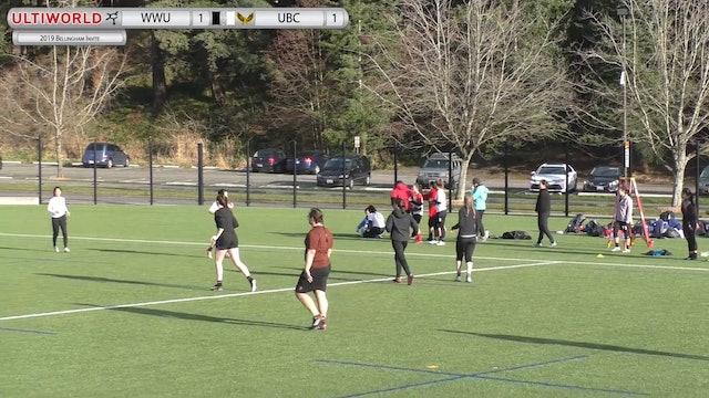 Bellingham Invite 2019: #6 UBC vs #12 WWU (W)