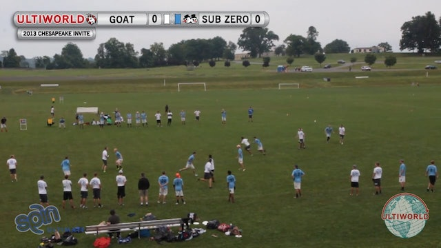 Sub Zero vs. GOAT | Men's Pool Play | Chesapeake Open 2013