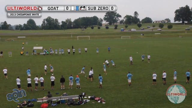 Chesapeake Open 2013: Sub Zero vs GOA...