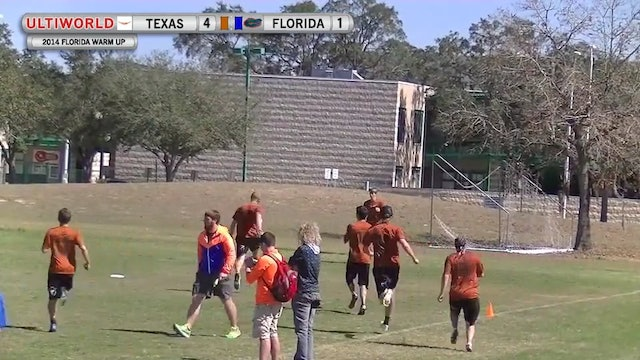 Florida Warm Up 2014: Texas v Florida (M Final)