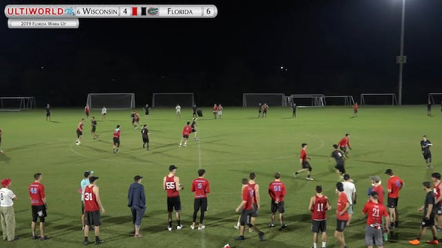 Florida Warm Up 2019: #6 Wisconsin vs...
