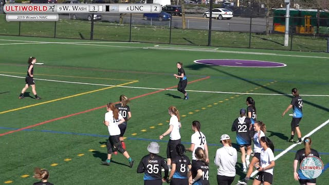 Women's Northwest Challenge 2019: #4 UNC vs #9 Western Washington (W)