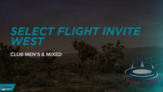 Select Flight Invite West 2021