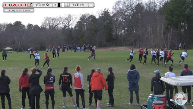 Queen City Tune Up 2019: #5 Ohio St vs #13 Tufts (W)