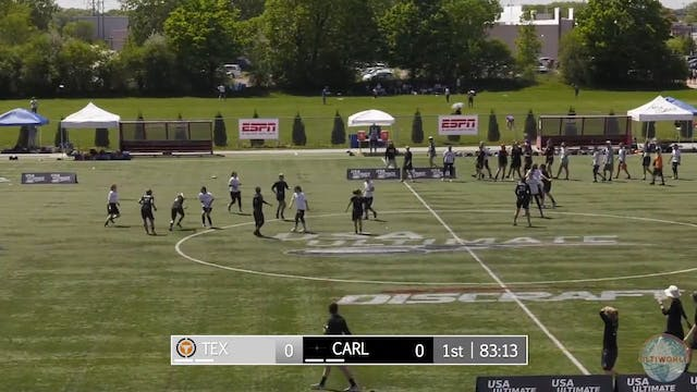 2018 D-I Nationals: Carleton v. Texas...