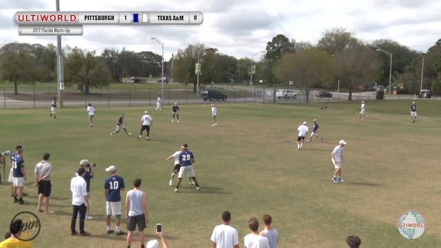 2017 Florida Warm Up: Pittsburgh v Texas A&M (Semifinals) presented by Spin Ultimate