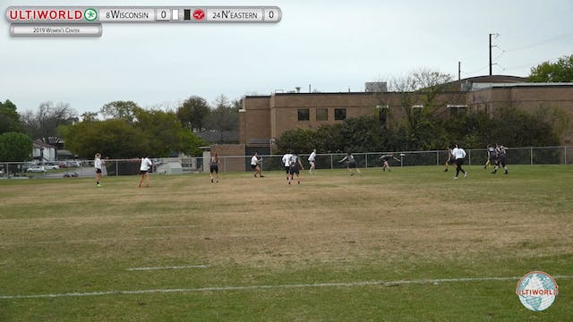 Women's Centex 2019: #24 Northeastern vs #8 Wisconsin (W)