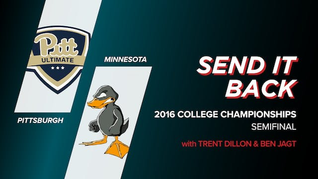 Pittsburgh vs Minnesota: 2016 College...