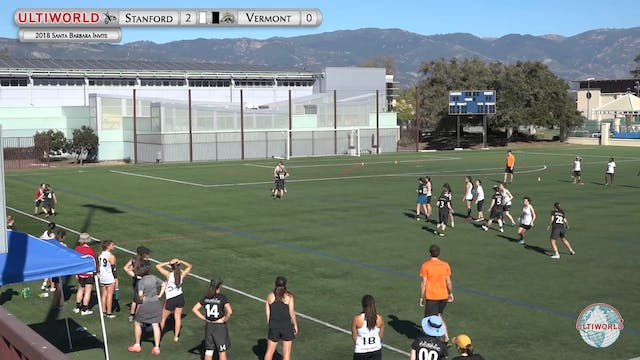 Stanford vs. Vermont | Women's Final ...