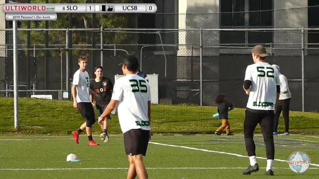 Cal Poly SLO vs. UCSB | Men's Pool Pl...