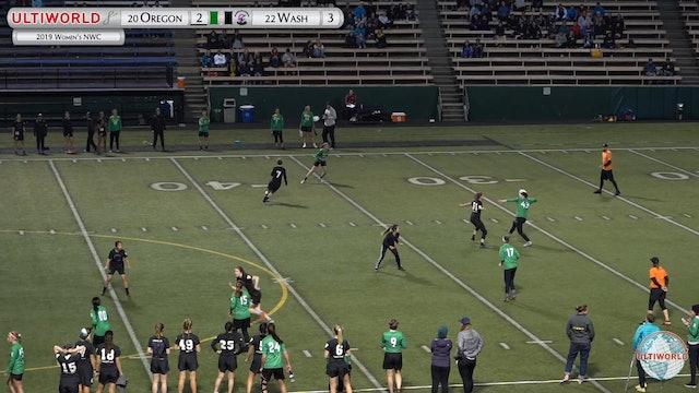 Women's Northwest Challenge 2019: #22 Oregon vs #20 Washington (W)