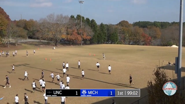 Classic City Classic 2017: UNC v Michigan (M Final, Commentated Livestream)