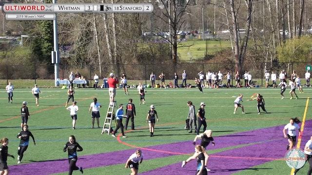Women's Northwest Challenge 2019: #18 Stanford vs Whitman (W)