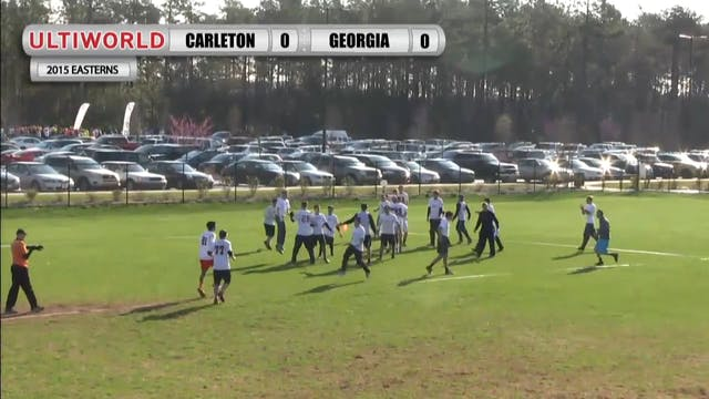 Easterns 2015: Carleton v. Georgia (M...