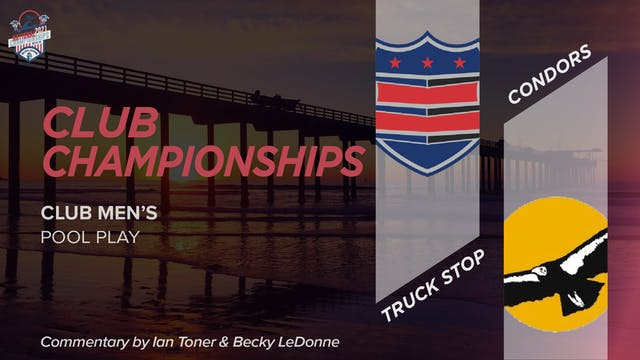 Condors vs. Truck Stop | Men's Pool Play