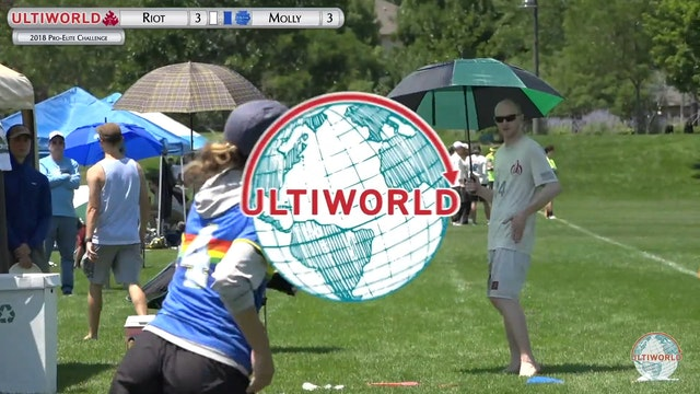 Pro-Elite 2018: Molly Brown v. Riot (W Final)