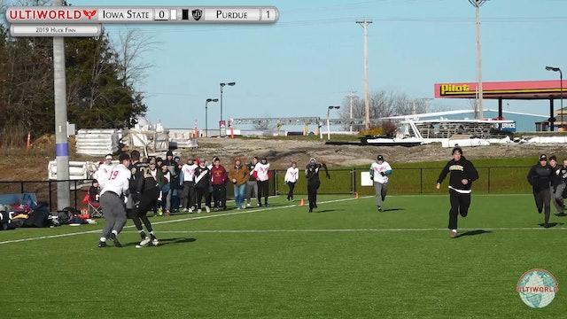 Purdue vs. Iowa State | Men's Pool Play | Huck Finn 2019