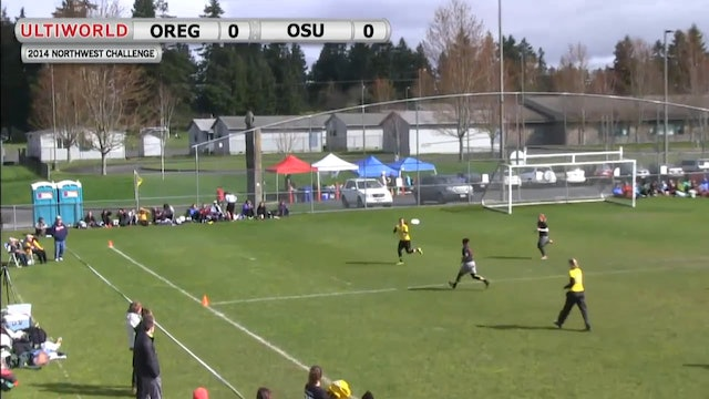Northwest Challenge 2014: Oregon vs Ohio State (W)