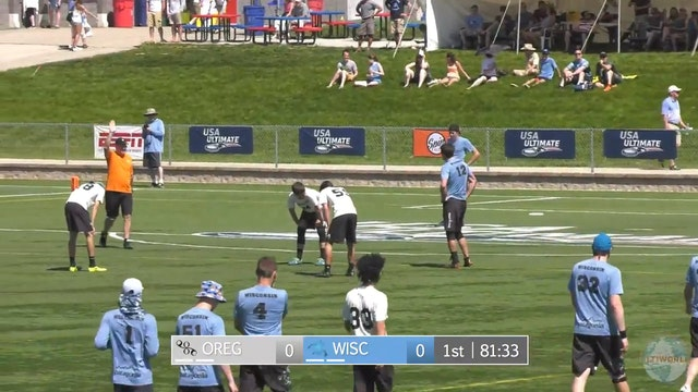 2018 D-I Nationals: Wisconsin v. Oregon (M)
