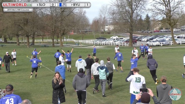 Men's Northwest Challenge 2019: #5 Cal Poly SLO vs #7 BYU (M)