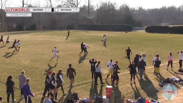 Queen City Tune Up 2015: Georgia v Michigan (W Pool)