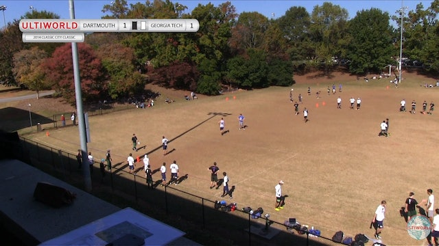 Classic City Classic 2014: Dartmouth v GA Tech (M)