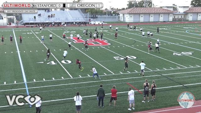 Stanford vs. Oregon | Women's Pool Play | Presidents' Day Invite 2017