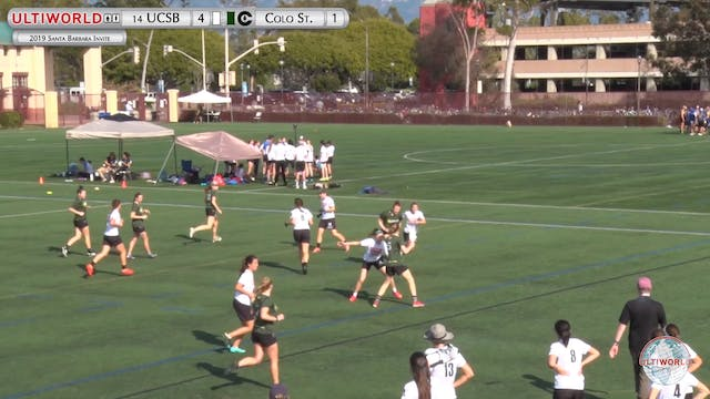UCSB vs. Colorado State | Women's Poo...