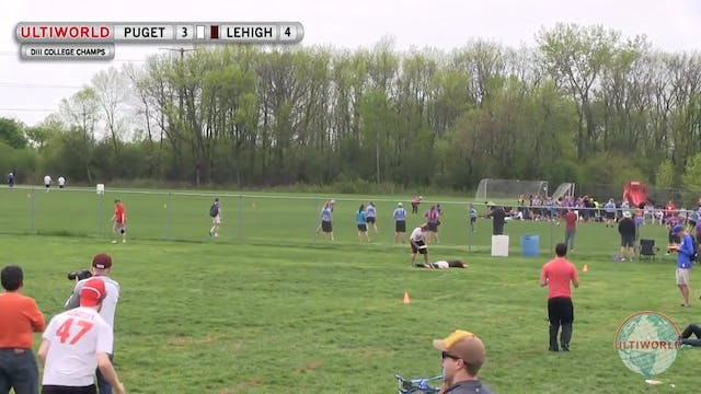 Puget Sound vs. Lehigh | Men's Pool P...