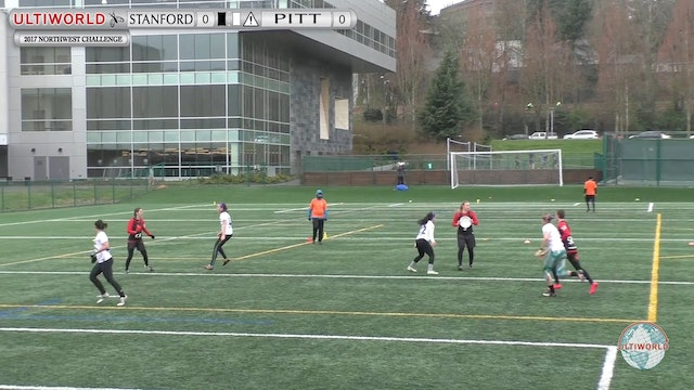 2017 Northwest Challenge: Stanford v. Pitt (W Final)