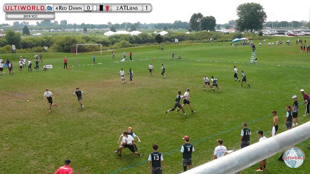 YCC 2019: #2 ATLiens vs #4 Red Dawn (B Semi)