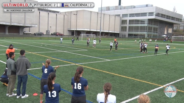 Pittsburgh vs. California | Women's Semifinal | Northwest Challenge 2017