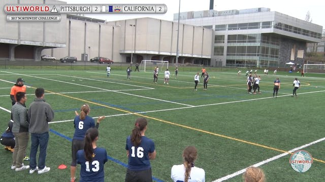 Pittsburgh vs. California | Women's S...