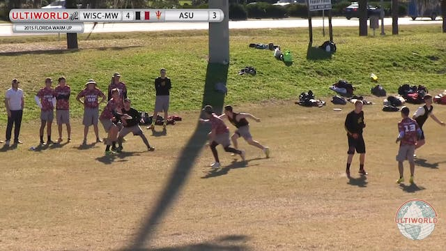 Florida Warm Up 2015: Arizona State v...