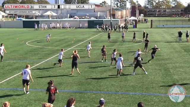 Santa Barbara Invite 2015: Stanford v UCLA (W Semi)