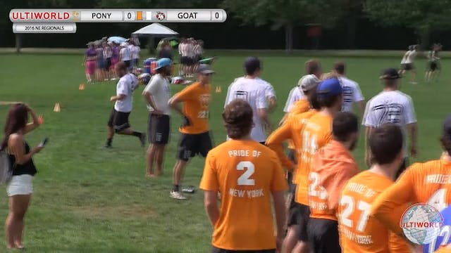 PoNY vs. GOAT | Men's Semifinal | Nor...
