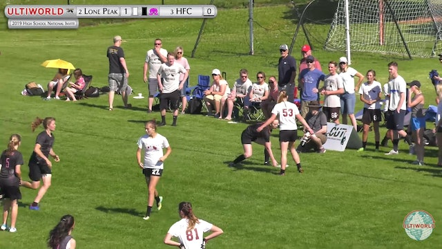 Holy Family vs. Lone Peak | Girl's Pool Play | High School National Invite 2019