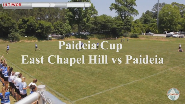 East Chapel Hill vs. Paideia | Girl's Final | Paideia Cup 2018