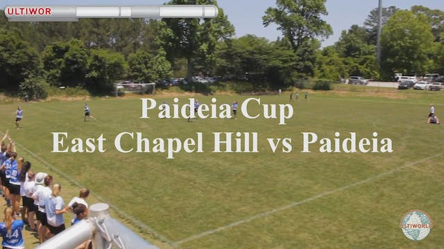 Paideia Cup 2018: East Chapel Hill [N...