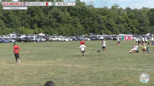 WUCC 2018: Doublewide (USA) v Bad Skid (GER) [Men's Quarters]