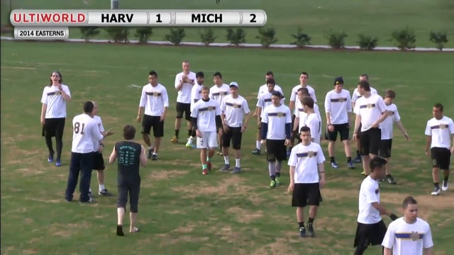 Michigan vs. Harvard | Men's Quarterfinal | Easterns 2014