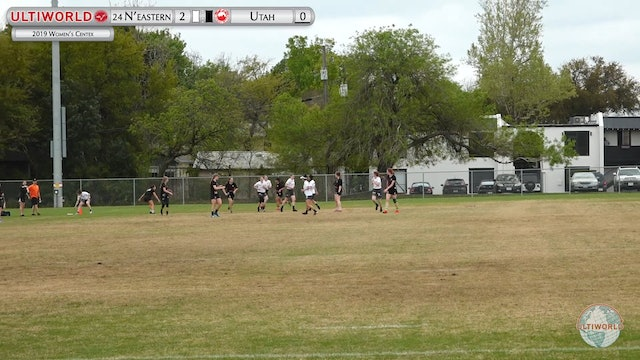 Women's Centex 2019: #24 Northeastern vs Utah (W Semi)