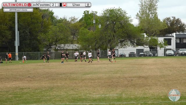 Women's Centex 2019: #24 Northeastern...