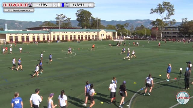 Washington vs. BYU | Women's Pool Pla...