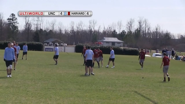 North Carolina vs. Harvard | Men's Semifinal | Queen City Tune Up 2013